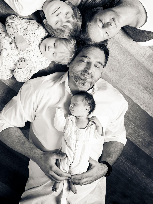 Familienportrait moderne Fotografie